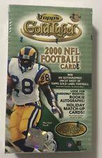 2000 Topps Gold Label HTA Jumbo Football Factory Sealed Hobby Box HTF!