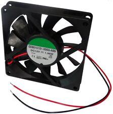 Aerzetix - Ventola di raffreddamento assiale per case computer PC 12V (Q5V)