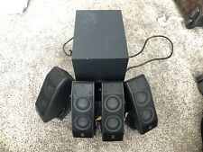 Logitech x-540 surround sound speaker systems with subwoofer