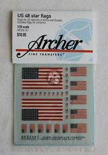 Archer 1/35 US 48 Star Flags for Vehicles in Africa and Europe WWII AR35141