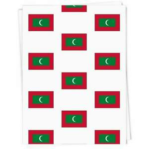 'Maldives Flag' Gift Wrap / Wrapping Paper / Gift Tags (GI023928)