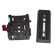 Quick Release QR Clamp Camera Base Plate for Manfrotto 501 500AH 701HDV 503HDV