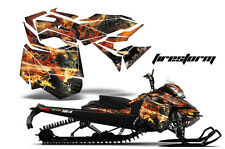 AMR Racing Sled Wrap Ski Doo Rev XM Snowmobile Graphics Kit 2013-2016 FIRESTORM