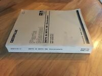 CAT CATERPILLAR 307C 307  SB CR EXCAVATOR CATERPILLAR PARTS BOOK S/N BNE BCM