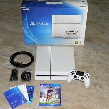 Sony PlayStation 4 PS4 500GB Glacier White Weiß