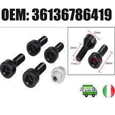 Set di Serrature per bulloni e dadi per BMW 1/3/5/6 Series E46 E87 36136786419