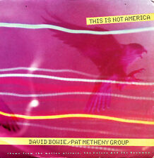 David Bowie et Pat Metheny Group - This Is Not America + Instrumental Single 7 ""