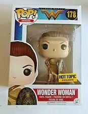 Funko Pop! Heroes Wonder Woman #178 Hot Topic Exclusive New