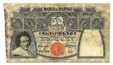More details for italy banco di napoli (s856) 50 lire 1911