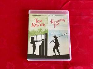 TOM SAWYER / HUCKLEBERRY FINN Blu Ray TWILIGHT TIME New & Sealed IMPORT