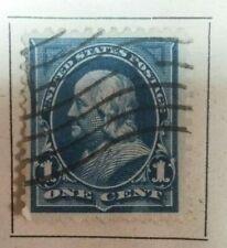 US Stamps 1 one cent benjamin franklin Scott #264 - 1894