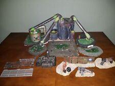 Warhammer 40K Custom Built Large Factory Terrain Set Orks Imperium
