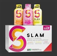 Advocare Slam Energy Shot 12 Count variety pack orange berry lemonade  (stg)