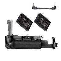 Battery Grip BG-1X For Canon EOS 800D/Rebel T7i/ 77D/Kiss X9i +2x LP-E17 Battery