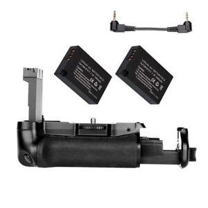 Vertical Battery Grip For Canon 800D 77D / Rebel T7i Kiss X9i +2x LP-E17 Battery