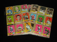 Lot of 99 Different 1972-73 Topps Hockey Cards - EX - Orr Dryden Hull AS Mikita