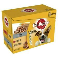 Pedigree Vital Protection 100g Beef and Chicken in Loaf Flavoured Dog Food Pouc…