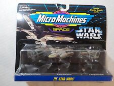 Vintage Galoob 1994 Micro Machines Space Star Wars Set III Y-Wing Tie Bomber New