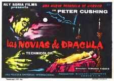 Brides de Dracula Poster 07 A2 Box Toile imprimer