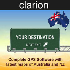 2018 GPS Software for Clarion GPS Units With Australian and NZ Maps