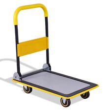 Dolly Cart Foldable With Wheels Hand Carts Dollies Truck Platform Trolley Heavy