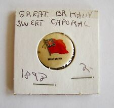 Vintage Sweet Caporal Great Britain Pin Button Estate