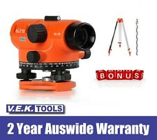 aLINE 20x Auto Dumpy Level Kit-2YR LASER AUS WRNTY-Great Value-TRIPOD & STAFF