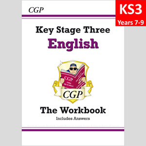 KS3 Years 7-9 English Workbook with Answer CGP
