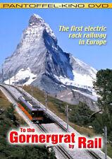To the Gornergrat by Rail (Matterhorn) DVD First Electric Rack Railway in Europa