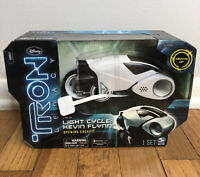 Disney Tron Legacy Kevin Flynn Light Cycle Lights Sound NEW Sealed Box. Rare Toy