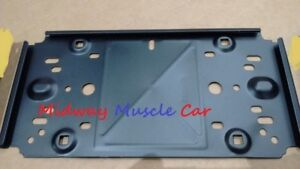 NEW front license plate bracket only 74-81 Pontiac Firebird Trans Am Firebird