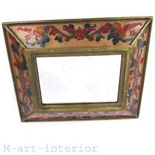 Antik Spiegel Rahmen mit Hinterglas-Malerei, Wall Mirror Glass-Frame 1910-1915