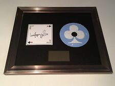 SIGNED/AUTOGRAPHED LUCY SPRAGGAN - JOIN THE CLUB FRAMED CD PRESENTATION. RARE