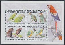Guinea Mi.Nr. Block 684A Papageien, postfrisch