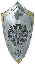 King Arthur Round Table Templar Knight Shield  by Marto of Toledo Spain 965.2S