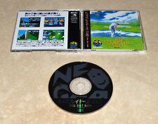 Top Player's Golf JPN •Neo Geo CD/CDZ System/Console •SNK Sports TPG