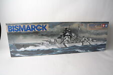 Tamiya 1/350th scale plastic model German Battleship Bismarck MISB!