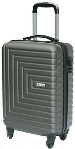ECONO Ryanair Cabin Bag Suitcase Lightweight Hand Luggage Hard Shell 55x35x20cm