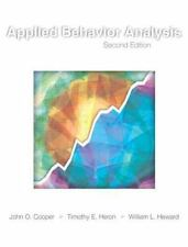 Applied Behavior Analysis by Heward Cooper & Heron 2nd Hardcover US Edition