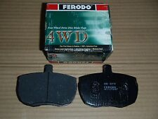 Ferodo 4WD Front Brake Pads for Land Rover Discovery 1 with Solid Rotors