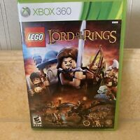 LEGO The Lord of the Rings Microsoft Xbox 360 Game Complete