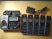 Panasonic KX-TG7875S Link2Cell - Bluetooth cordless phone