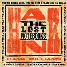 THE LOST NOTEBOOKS OF HANK WILLIAMS  CD BOB DYLAN NEU