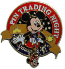 Disney Pin 55586 DLR Pin Trading Nights Mickey Mouse 3D Minnie Mouse LE Rare