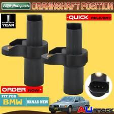 2Pcs Crankshaft Position Sensor for BMW E46 E39 E90 E53 E83 3 series 1995-2011