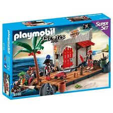 YRTS 6146 Playmobil Superset Fuerte Pirata ¡Nuevo en Caja! ¡New!