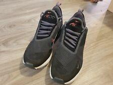 Nike Air Max 270 Zapatillas Uk Size 6/eu39 Negro y Gris Usado