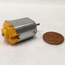 1 piece 130 DC Hobby Mini Motor 12500 RPM 6V with Varistor for Digital Products