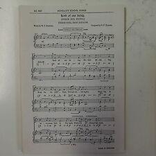 Choral / VOCAL SCORE Signore della nostra Handel compatti