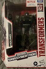 Transformers Autobot Hound Netflix War for Cybertron Trilogy MISB